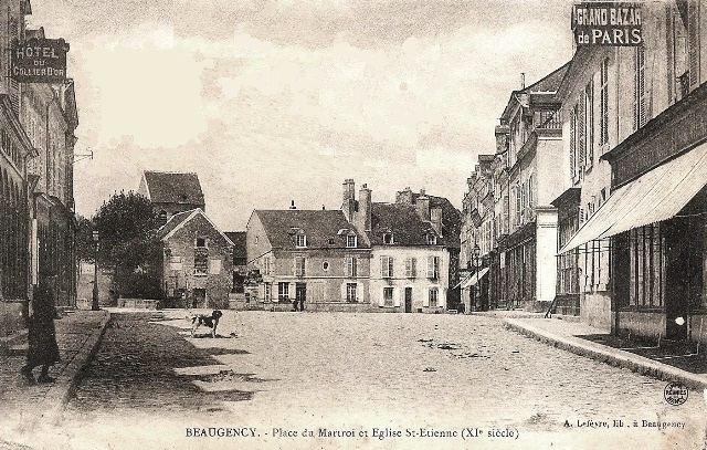 Beaugency (45) Place du Martroi CPA