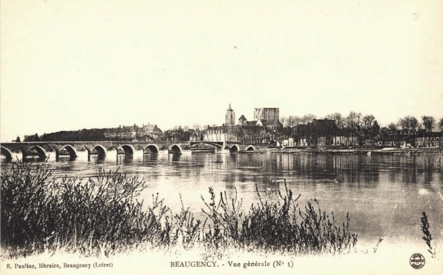 Beaugency (45) Pont CPA