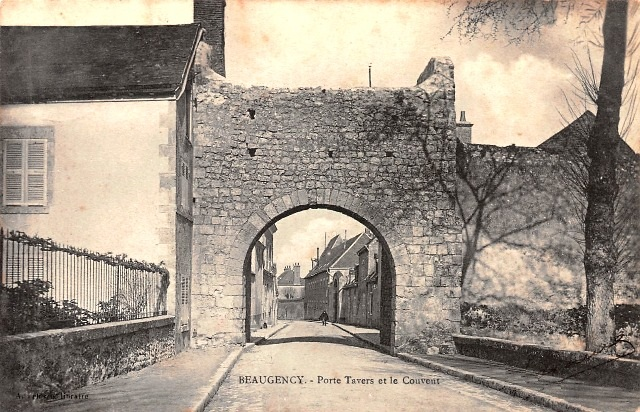 Beaugency (45) Porte Travers CPA