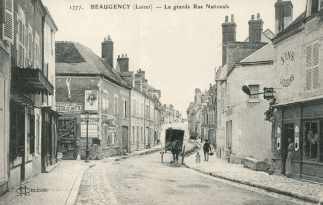 Beaugency (45) Rue Nationale CPA