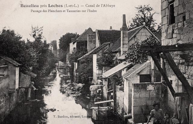 Beaulieu-lès-Loches (37) Canal de l'Abbaye CPA