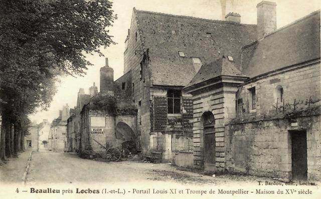 Beaulieu-lès-Loches (37) Logis du Prieur CPA