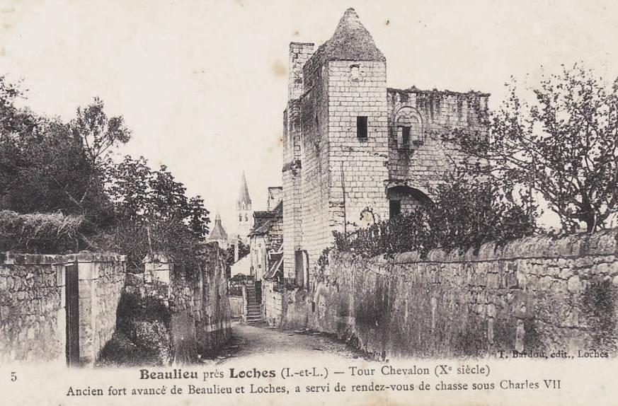 Beaulieu-lès-Loches (37) Tour Chevaleau CPA