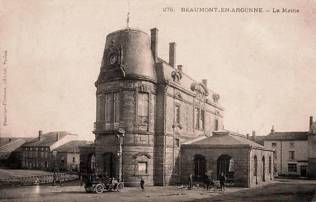 Beaumont-en-Argonne (08) Mairie CPA