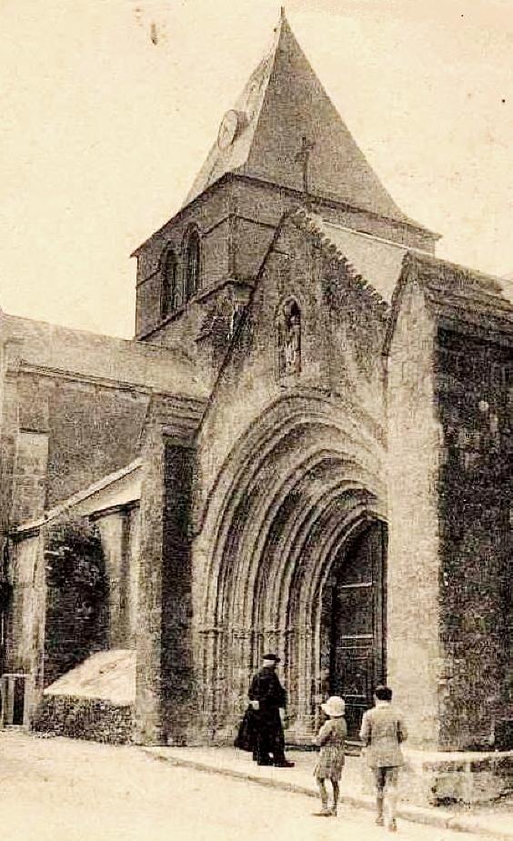 Beauvoir-sur-Mer (Vendée) Eglise Saint Philibert CPA