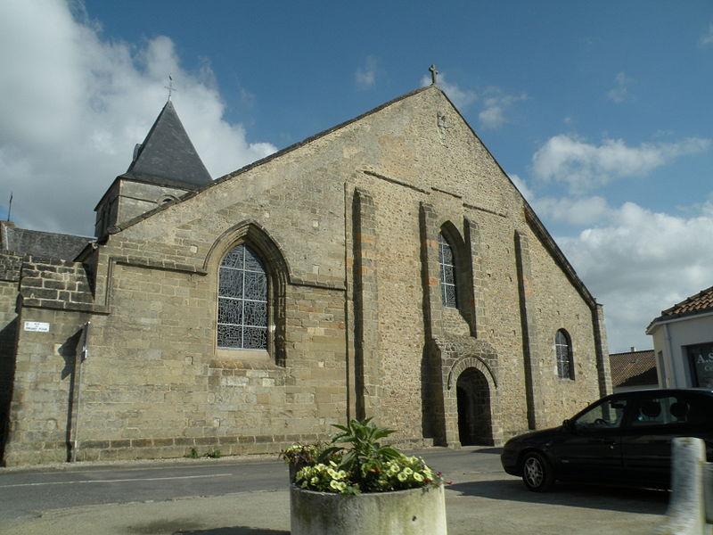 Beauvoir-sur-Mer (Vendée) Eglise Saint Philibert