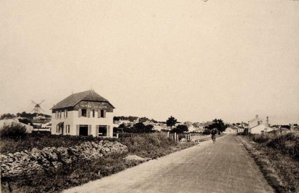 Beauvoir-sur-mer (Vendée) Hôtel du Gois CPA