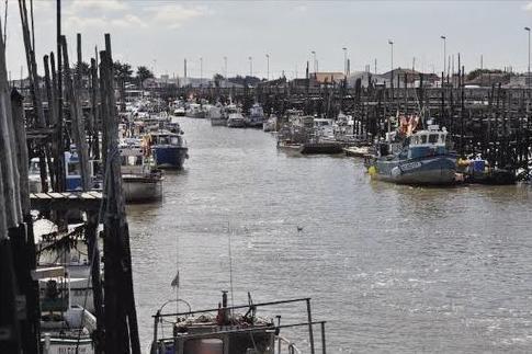 Beauvoir-sur-Mer (Vendée) Port chinois