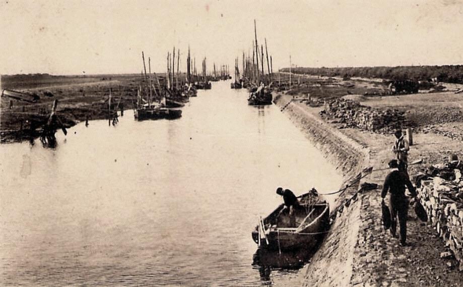 Beauvoir-sur-Mer (Vendée) Port de l'Epois CPA
