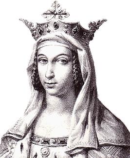 Berthe de Hollande, 1ère épouse