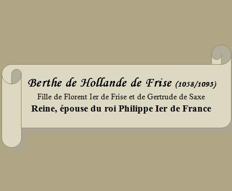 Berthe de Hollande de Frise