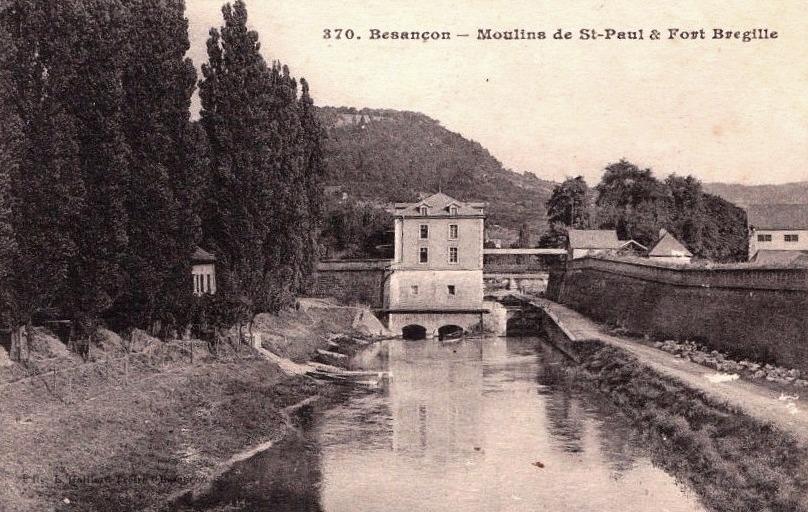 Besançon (Doubs) Fort Bregille, le moulin Saint Paul CPA