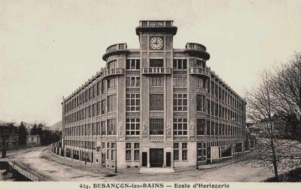 Besançon (Doubs) L'Ecole d'horlogerie CPA
