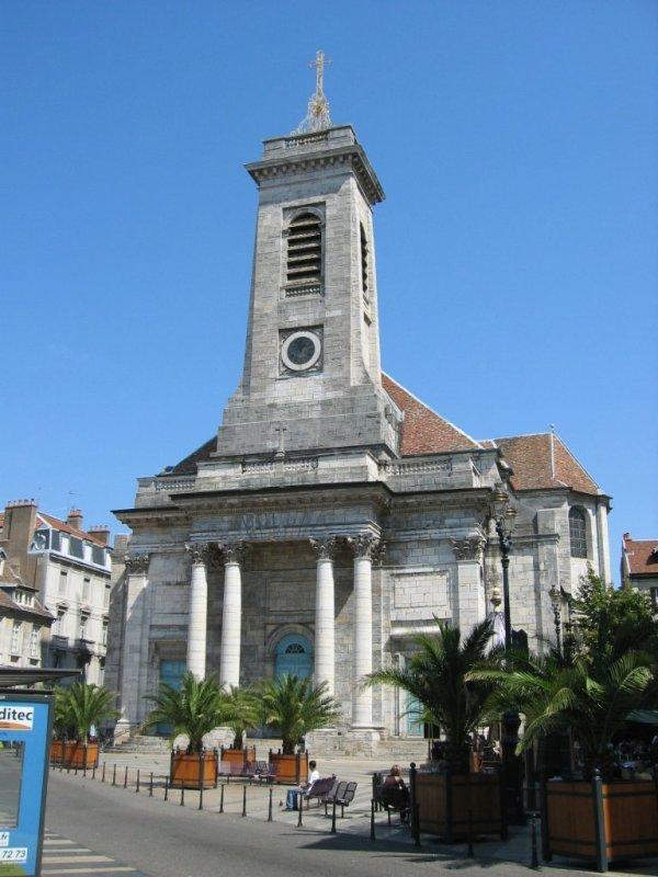 Besançon (Doubs) L'église Saint Pierre