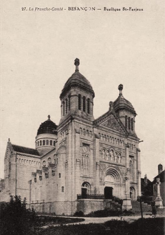 Besançon (Doubs) La basilique Saint Ferjeux CPA