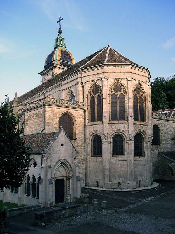 Besançon (Doubs) La cathédrale Saint-Jean