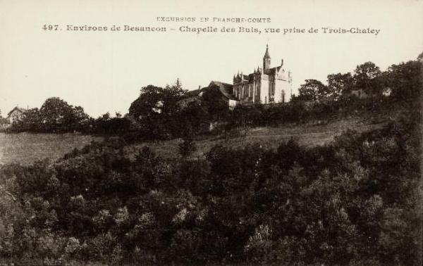 Besançon (Doubs) La chapelle des Buis CPA