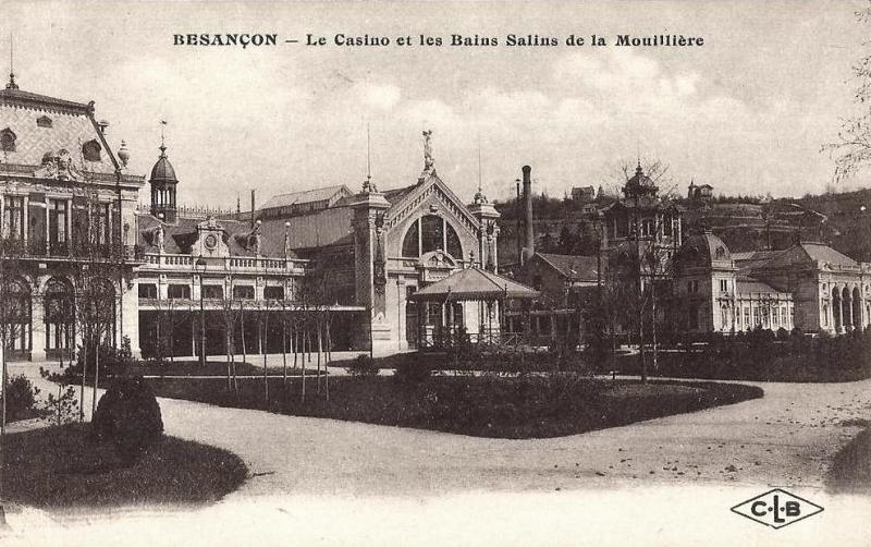 Besançon (Doubs) Le Casino CPA