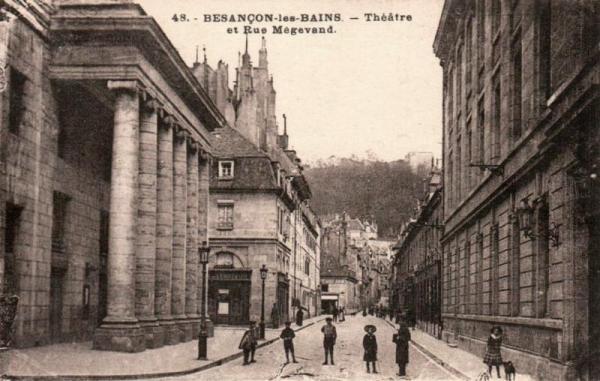 Besançon (Doubs) Le Théâtre CPA