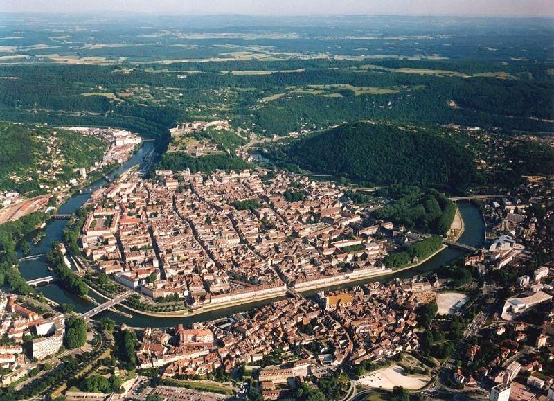 Besançon (Doubs) Vue générale