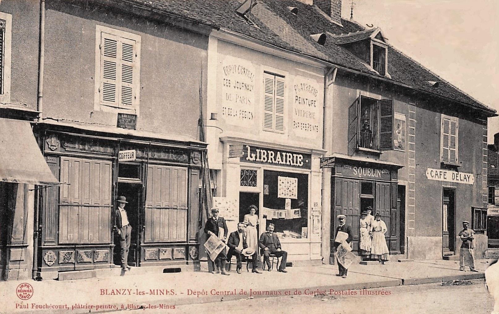 Blanzy (Saône-et-Loire) Les boutiques CPA
