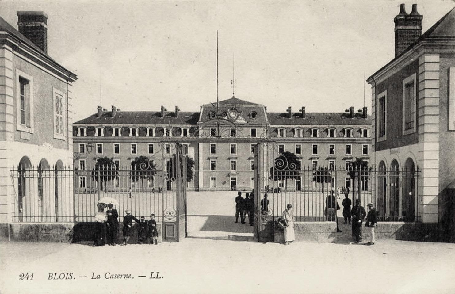 Blois (41) Caserne CPA