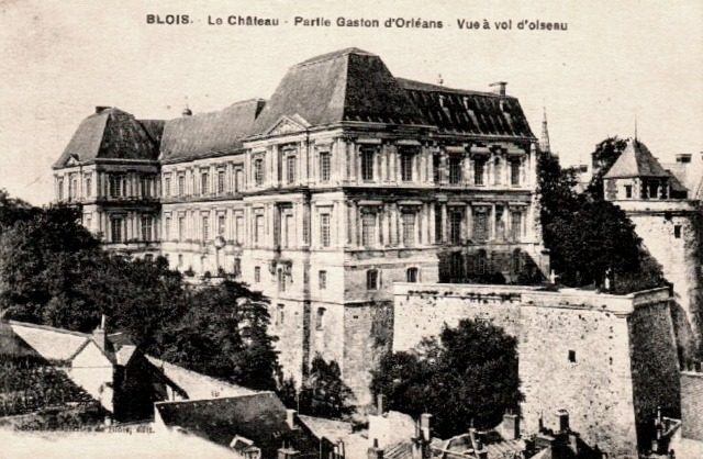 Blois (41) Château, aile Gaston d'Orléans CPA
