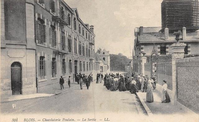 Blois (41) Chocolaterie Poulain CPA