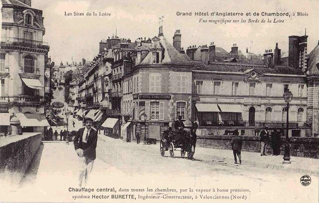 Blois (41) Grand Hôtel d'Angleterre CPA