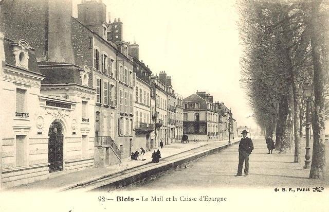 Blois (41) Le mail CPA