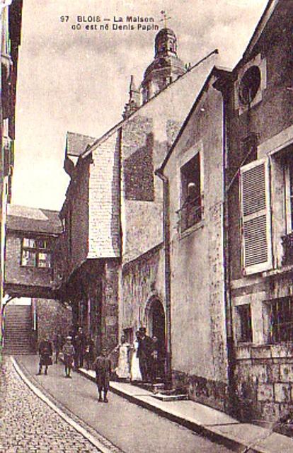 Blois (41) Maison natale de Denis Papin CPA