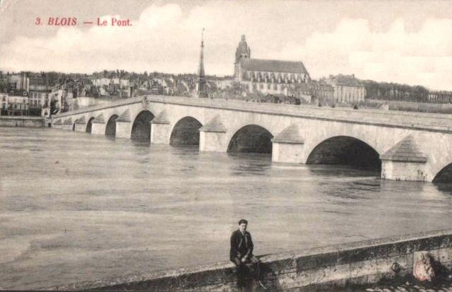 Blois (41) Pont CPA