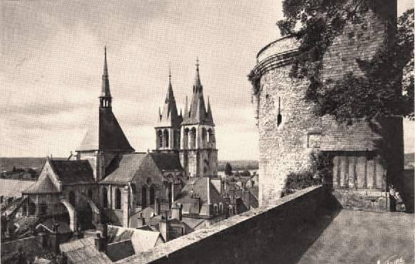 Blois (41) Tour du Foix CPA