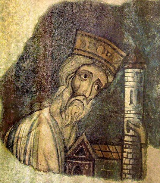 Boson de Provence 844/887, fresque abbaye de Charlieu