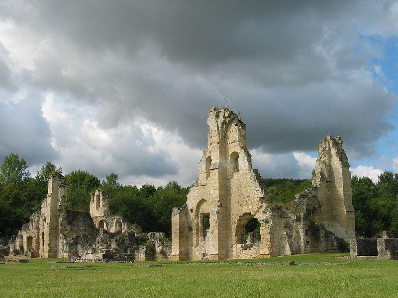 Bouconville-Vauclair (Aisne) Abbaye de Vaucler