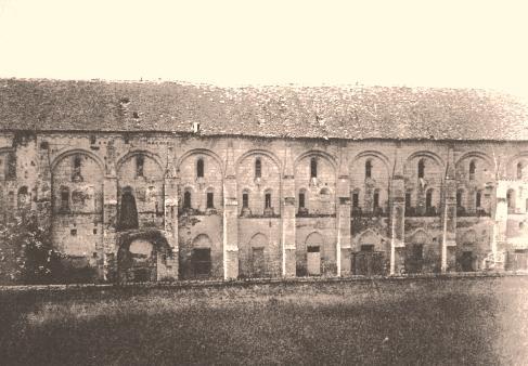 Bouconville-Vauclair (Aisne) CPA Abbaye de Vaucler avant 1914