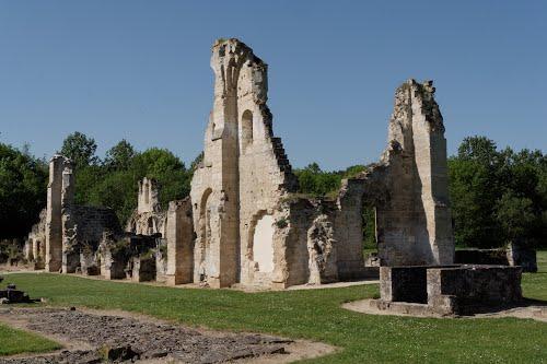 Bouconville-Vauclair (Aisne) CPA Abbaye de Vaucler