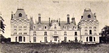 Bouconville-Vauclair (Aisne) CPA Château de La Bove 1914