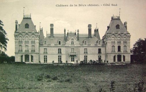 Bouconville-Vauclair (Aisne) CPA Château de La Bove avant 1914