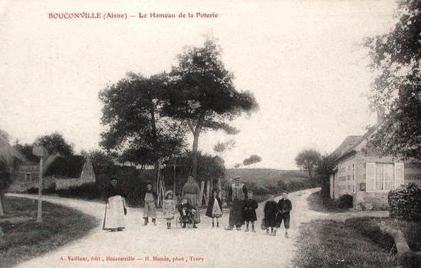 Bouconville-Vauclair (Aisne) CPA Hameau de La Poterie
