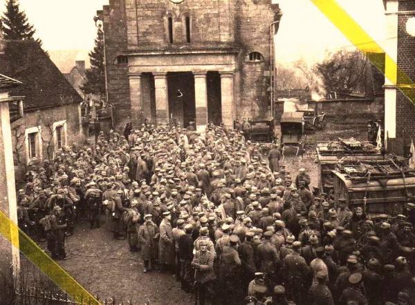 Bouconville-Vauclair (Aisne) CPA les allemands 1914