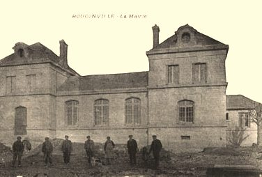 Bouconville-Vauclair (Aisne) CPA Mairie