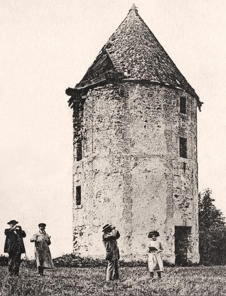 Bouconville-Vauclair (Aisne) CPA moulin de Vauclair