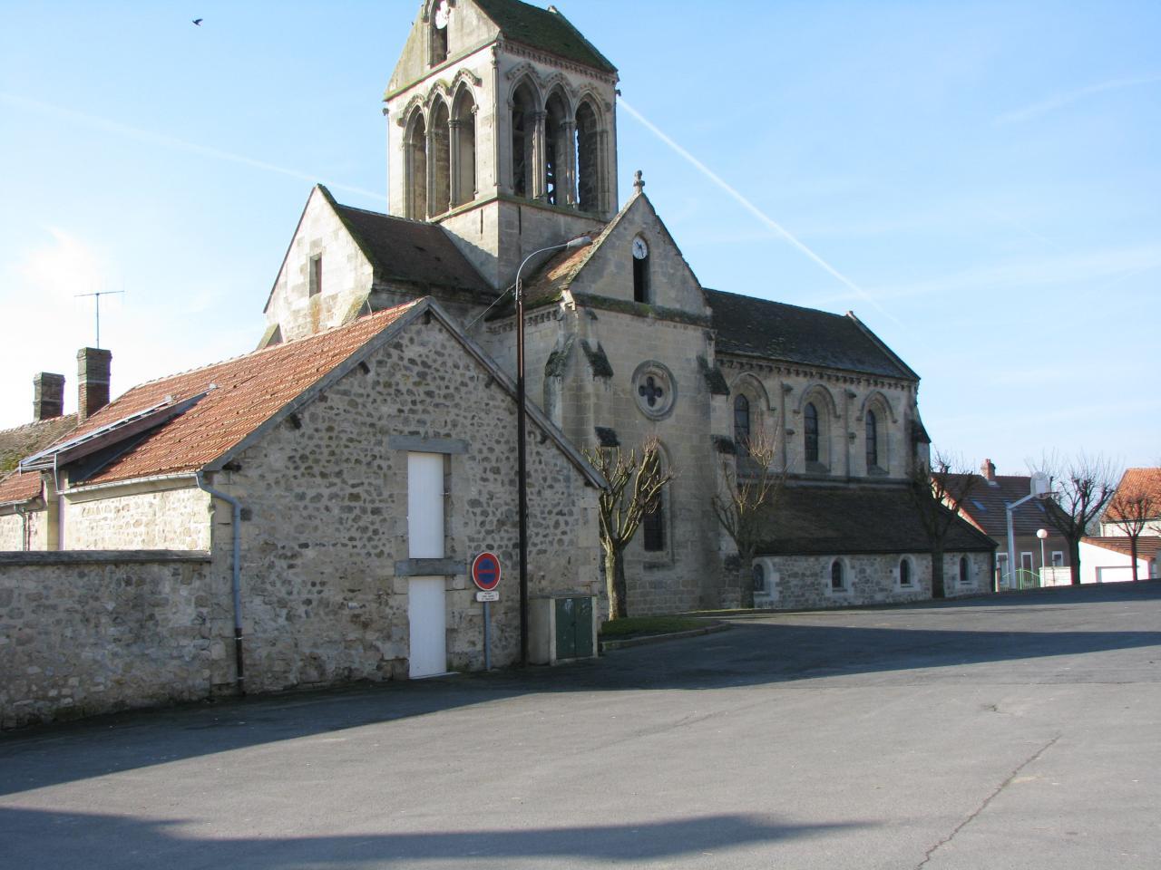 Bourg-et-Comin (Aisne) Eglise Saint Martin