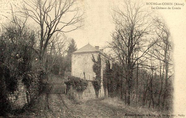 Bourg-et-Comin (Aisne) CPA Chateau de Comin