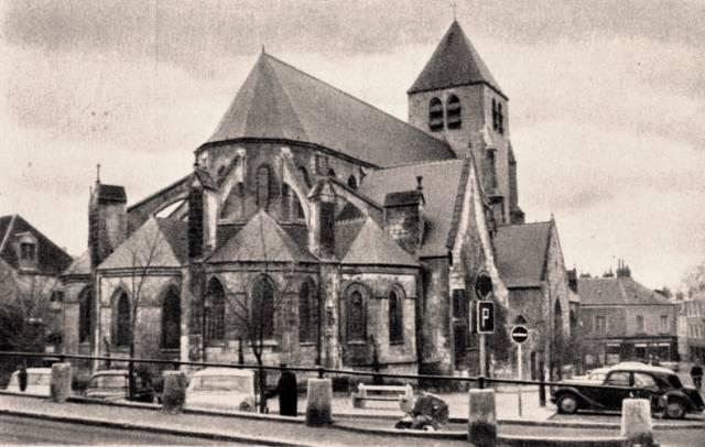 Bourges (18) L'église Saint-Pierre-le-Guillard CPA