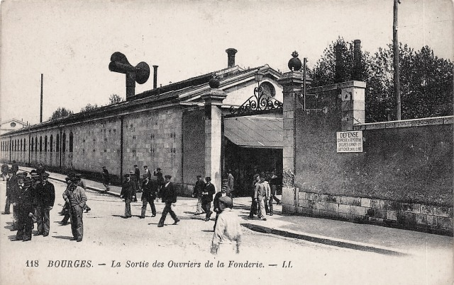 Bourges (18) La Fonderie CPA