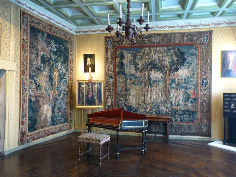 Bourges (Cher) L'Hôtel Lallemant, intérieur