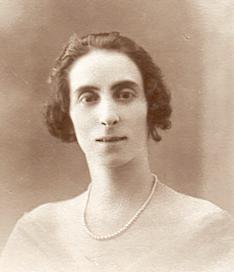 Emma Antoinette Eugénie Bourrié en 1928
