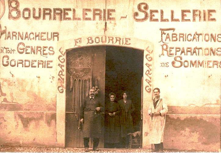 Fulcran Sylvestre Bourrié (avec sa seconde épouse et ses enfants)